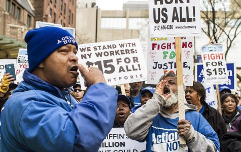 Chicago workers fight for $15