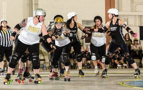 Roller derby girls jam back to the top