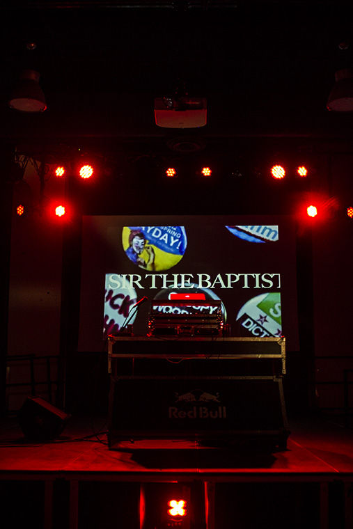 """Students danced to Sir the Baptist's """"Raise Hell"""" music video as he was announced as Manifest 2016's headliner on April 8 at the Conaway Center, 1104 S. Wabash Ave."""