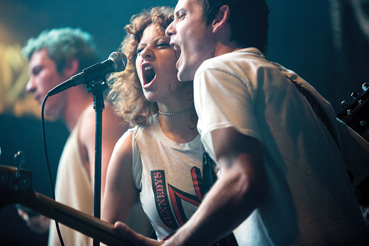 "Director Jeremy Saulnier was inspired to direct ""Green Room"" by his experiences playing in a local punk band in high school."