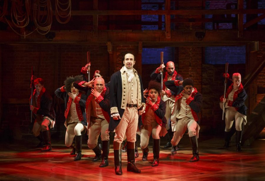 """Hamilton"" begins its national tour to Chicago's PrivateBank Theatre, 18 W. Monroe St., Sept. 27."