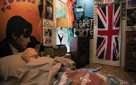 "Toronto artist Sarah Keenlyside created a replica of Ferris Bueller's bedroom from the 1986 film ""Ferris Bueller's Day Off"" that will be on display at Chicago's Ferris Fest May 20–22."