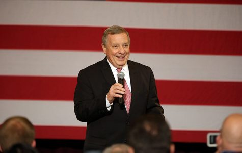 Sen. Dick Durbin shares thoughts on DNC convention, top political issues