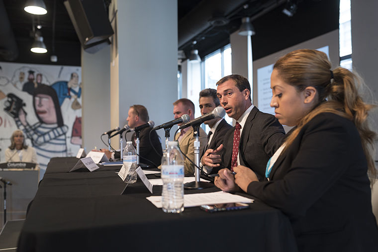 A multi-panel seminar hosted at Columbia, was aimed at educating students and members of the public about problems in Illinois, according to Sarah Brune, Executive Director of Illinois Campaign for Political Reform.