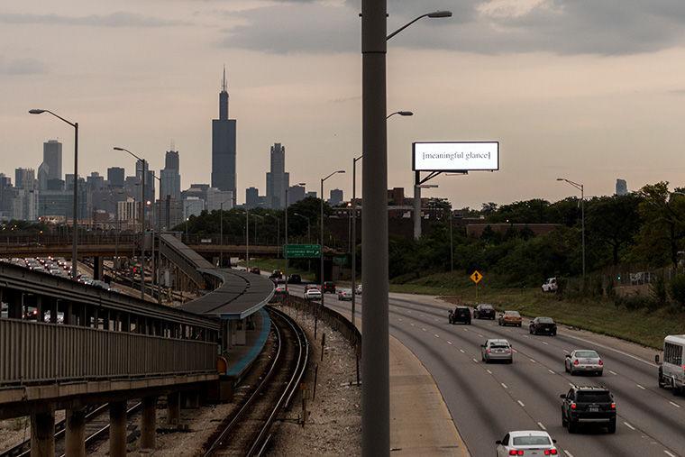 Billboard at 3150 W. Harrison St., near the Kedzie-Homan CTA Blue Line stop. Sept. 7