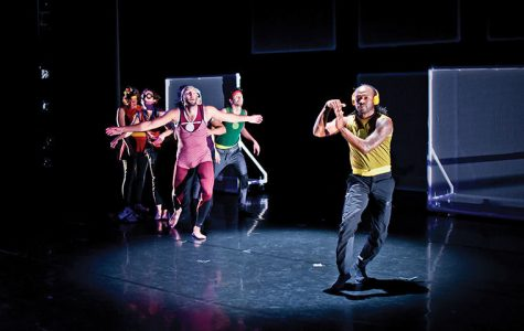 """""""Trip the Light Fantastic: The Making of SuperStrip,"""" Columbia's Dance Center's upcoming show, is the most visually technical work Chicago-based Lucky Plush Productions has ever done, according to ensemble member Meghann Wilkinson."""