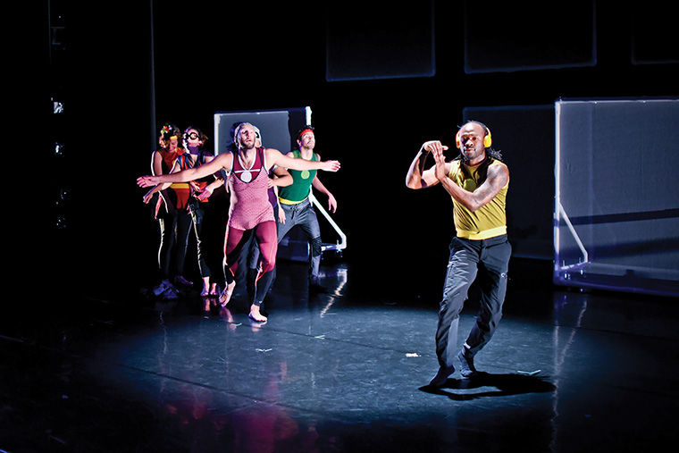 """Trip the Light Fantastic: The Making of SuperStrip,"" Columbia's Dance Center's upcoming show, is the most visually technical work Chicago-based Lucky Plush Productions has ever done, according to ensemble member Meghann Wilkinson."