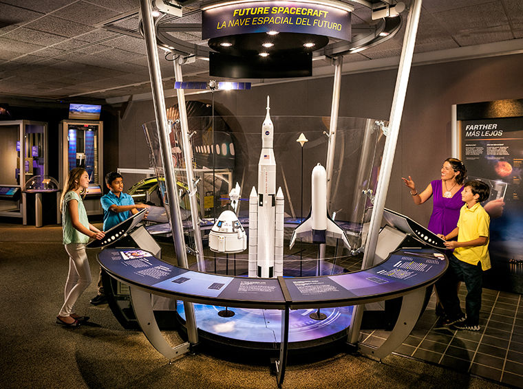 """""""Above and Beyond"""" opens Oct. 4 at Museum of Science and Industry, 5700 S. Lake Shore Drive, and shows the history and future of flight."""