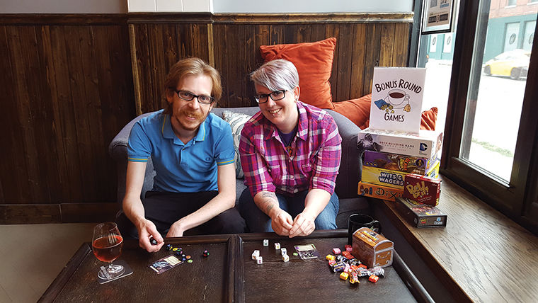 Bonus Round Game Cafe will offer all-you-can-play board games for $7 when it opens its first official location later this year. The cafe received Kickstarter funds.