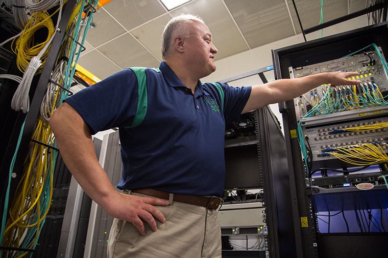 Mark Las, director of infrastructure services in the Information Technology Department, said the department doubled the number of access points in 22 campus buildings to improve internet connection.