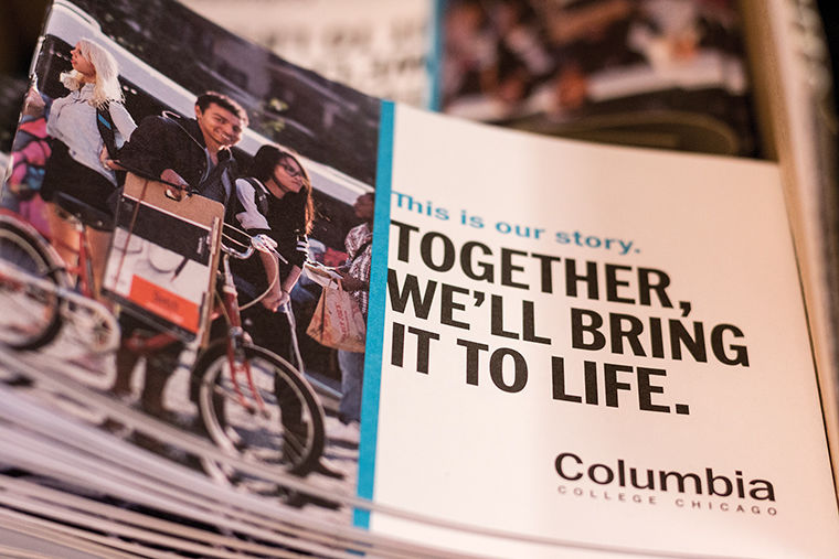 The college is scheduled to launch its new look and message  on Sept. 19, which was designed by Ologie, a consulting company based  in Columbus, Ohio.