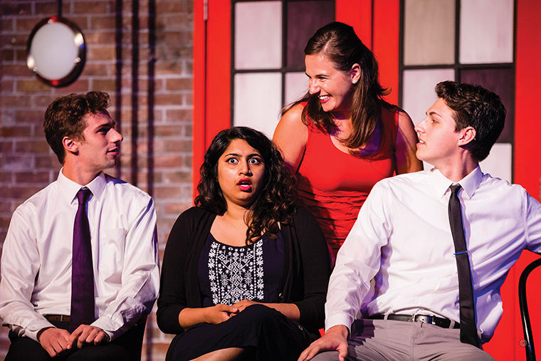 Columbia's tie-in with The Second City gives students the opportunity to take one semester at The Second City's Training Center located at 1608 N. Wells St.