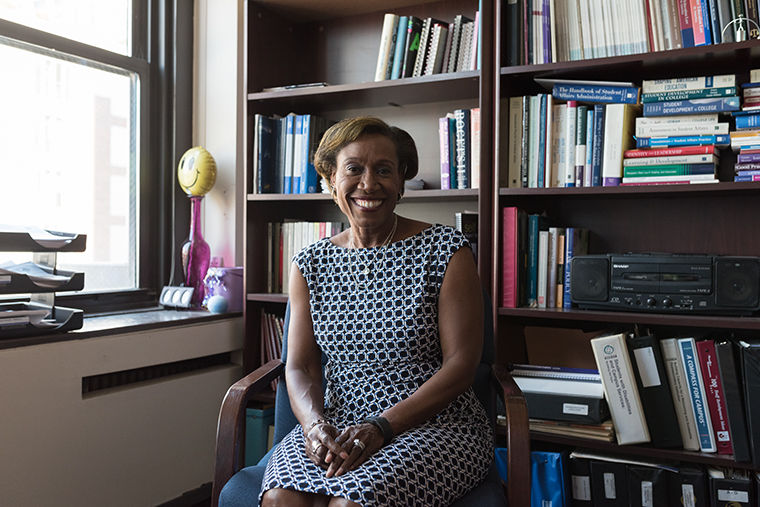 Sharon Wilson-Taylor. associate vice president and dean of student at Columbia College Chicago.