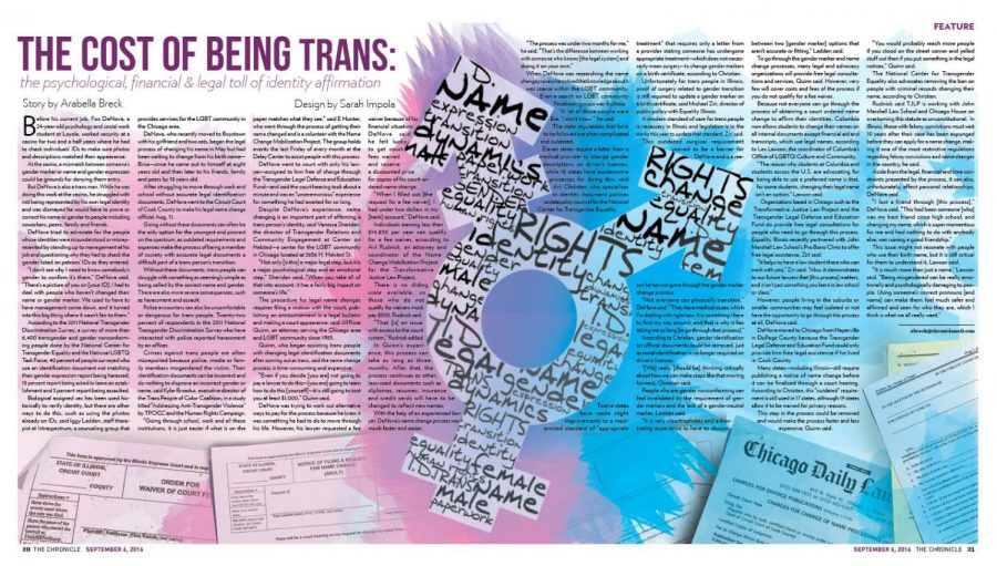 The cost of being trans: the psychological, financial & legal toll of identity affirmation