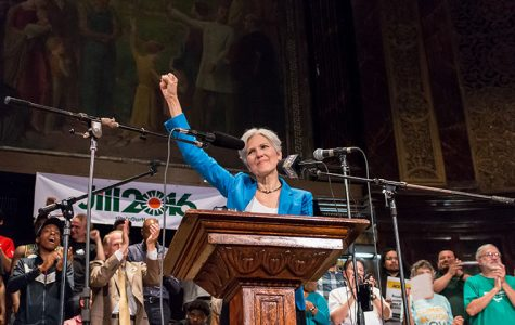Jill Stein discussed her presidential platforms in her hometown of Chicago during a Sept. 7 rally.