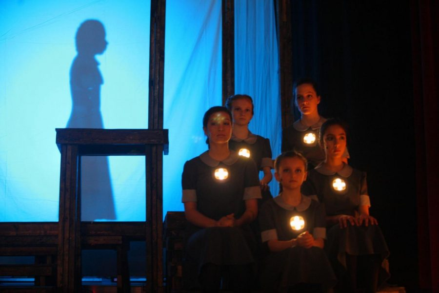 Youth actors in the Neverbird Project theater group created and performed a darker rendition of the fairy tale Pinnochio.