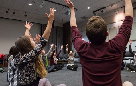 Community members lead movement therapy workshop