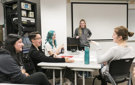 New student organization Women is Audio was co-founded by junior audio arts & acoustic major Kendra Searl. Searl said the club allows women in the field to meet and encourage one another.
