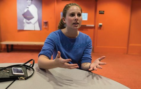 Leah Zeiger, a senior dance major, spreads awareness about sexual assault and dating violence through her project called The Sunflower Project.
