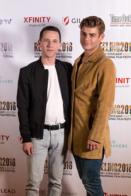 Justin Kelly (director, writer) and Garrett Clayton (actor) appear at the film's screening at the Reeling Film Festival that highlights international LGBTQ+ movies. Landmark Theatre, 2828 N. Clark St. Sept. 29.