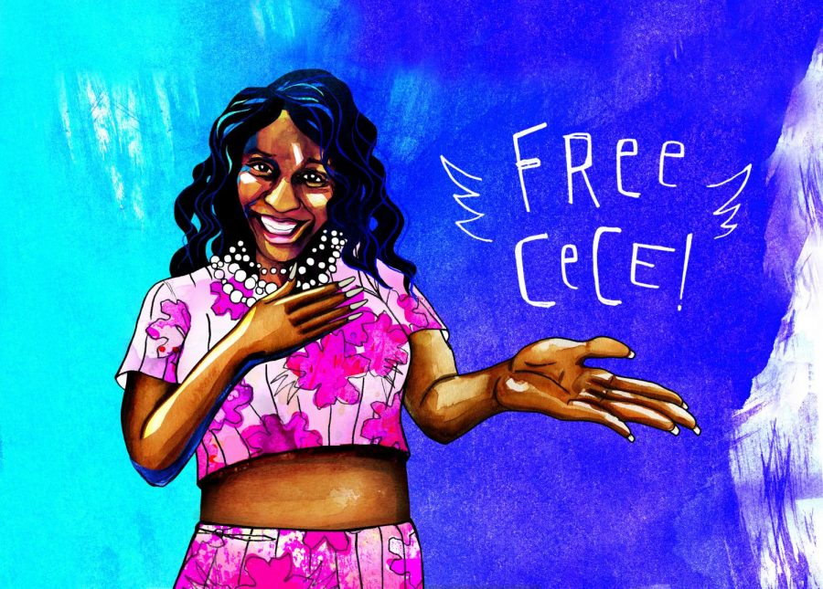 "CeCe McDonald, a transgender woman who was placed in a men's prison after a manslaughter conviction, is the subject of the documentary, ""FREE CeCe!"""