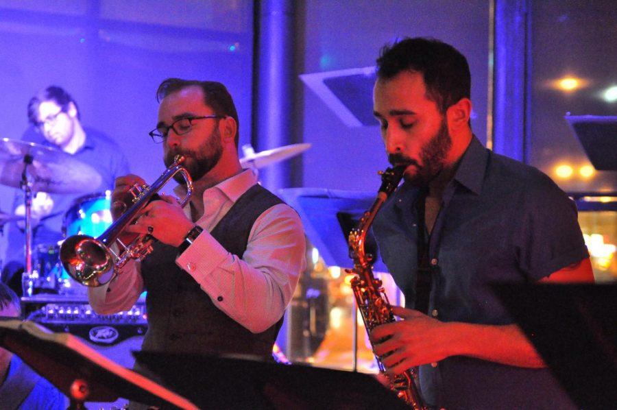 "The Lakeside Pride Jazz Orchestra will perform ""¡En Fuego!""on Oct. 8 at Seven Nightclub and Lounge, 3206 N. Halsted St."