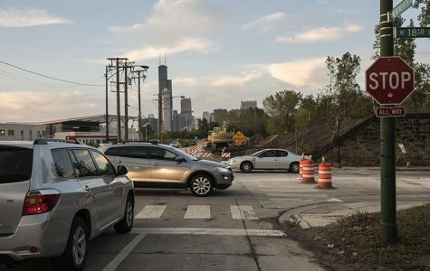Roadway Construction began Sept. 30 near 1700 S. Wentworth Ave. and extends to Wentworth Avenue near Chinatown to ease congestion for South Side commuters traveling into the Loop.