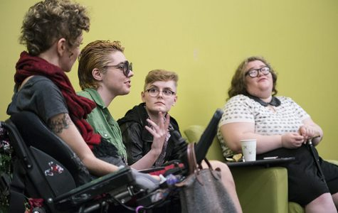 Students discuss queerness and disability in Identi(tea)s event