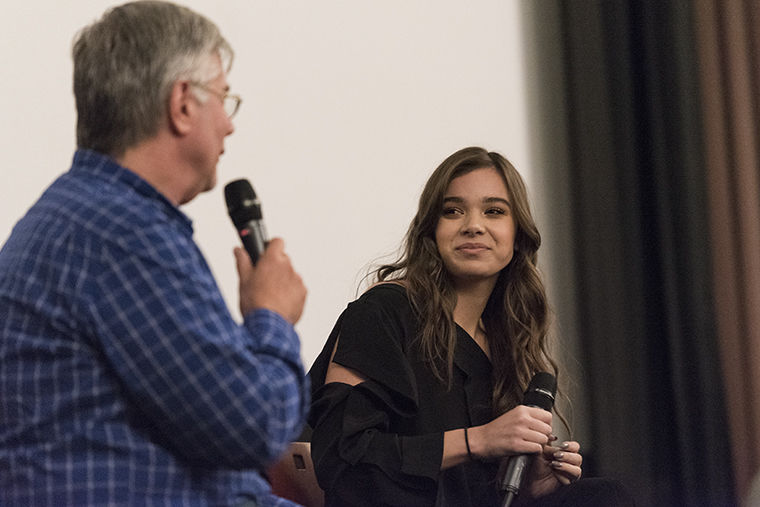 Hailee Steinfeld, who visited Columbia Oct. 24, said her new film, 'The Edge of Seventeen,' allowed her to express herself on camera more than any of her previous roles.