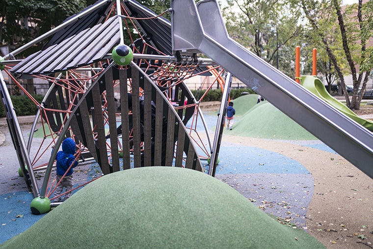 As a part of Mayor Emanuel's Chicago park expansion, 327 playgrounds, such as Near South's Coliseum Park, 1466 S. Wabash Ave., will have been restored or constructed in the city since 2013 as of this December.