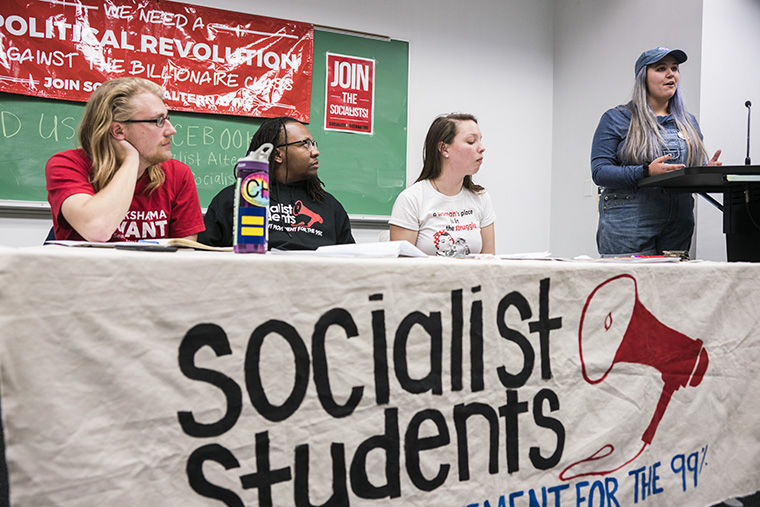 Socialist Students was created as a chapter of the national Socialist Alternative organization to give a voice for young people to promote progressive ideas, according to Clark Nguyen, a member of Socialist Alternative.