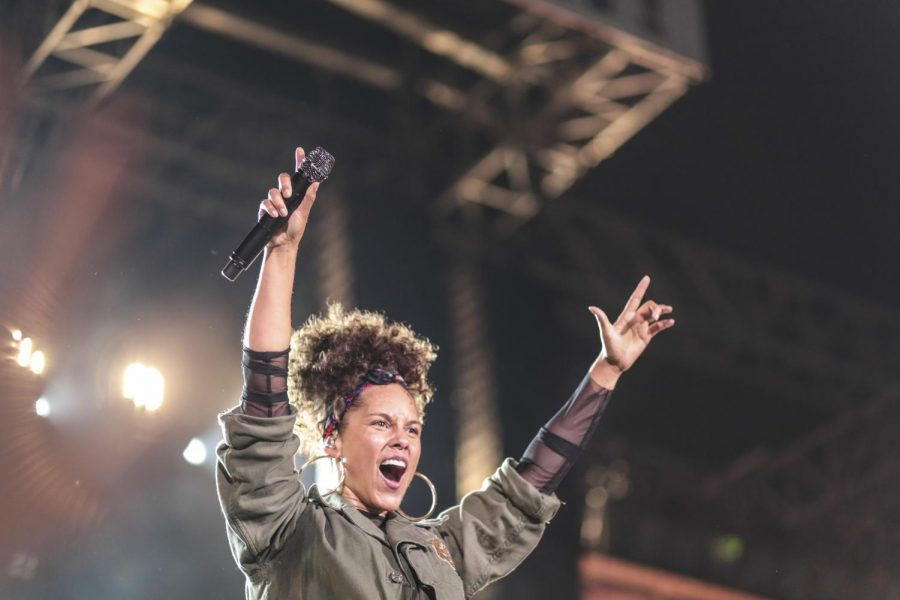 Alicia+Keys%2C+who+performed+Sept.+24+at+Chance+the+Rapper%E2%80%99s+Magnificent+Coloring+Day+Festival+at+U.S.+Cellular+Field%2C+released+album+HERE+on+Nov.+4.%C2%A0