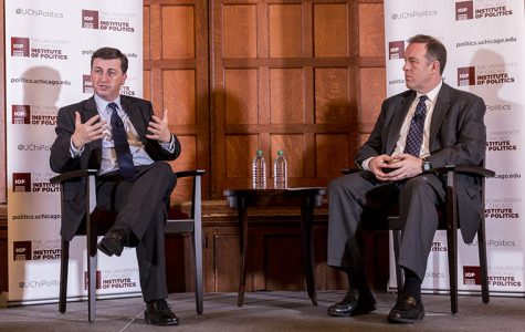 The Institute of Politics at the University of Chicago hosted former British politician Douglas Alexander Nov. 15 to discuss what led to the Brexit victory.