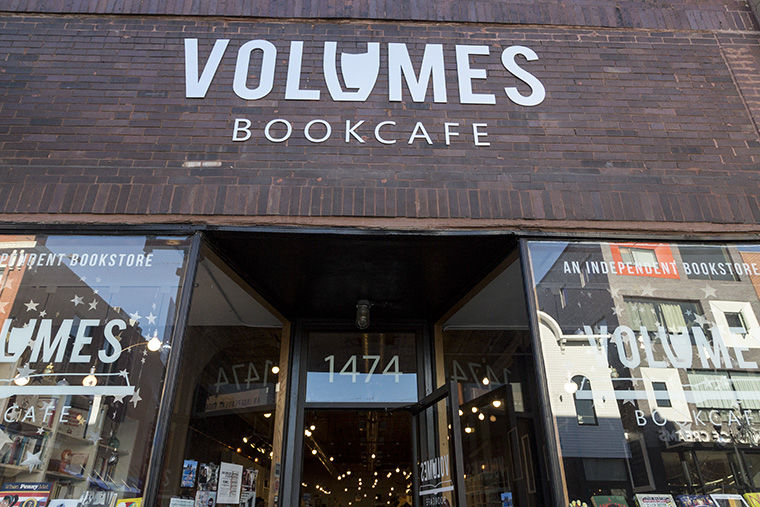 Volumes Bookcafe, 1474 N. Milwaukee Ave.