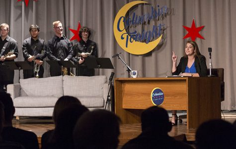"Columbia's first student-run late night show, ""Columbia Tonight,"" had its first live taping Nov. 18."