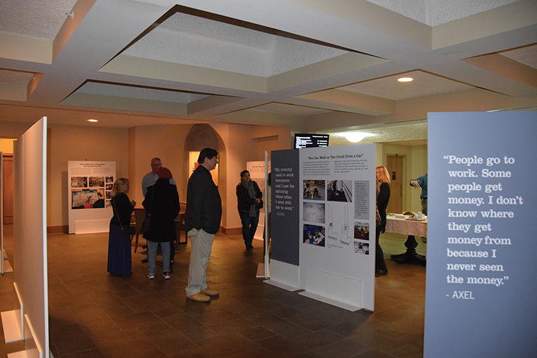 The 'Children Connecting to the City: A Study of People, Places and Relationships' exhibit, showcased at the Union Church of Hinsdale with help from Columbia'sEducation Department, uses work made by preschool students throughout Chicago