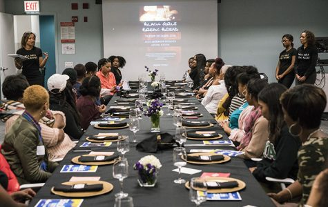 Black Girls Break Bread, a group created to empower black women, hosted a Dec. 1 event at which Columbia students and staff shared their experiences as black women at the college.