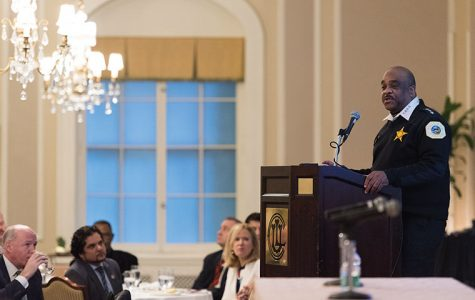 Chicago Police Department Superintendent Eddie Johnson presented and discussed the department's new Use of Force policy at the Union League Club Nov. 29.