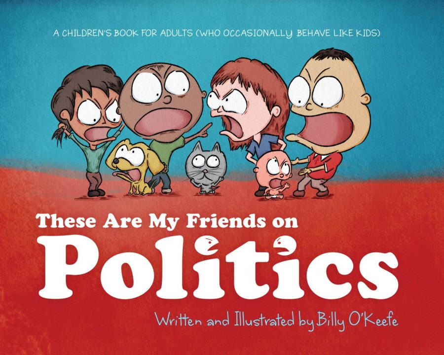 Billy O'Keefe released his new illustrated novel on Oct. 25 about accepting friends and family for their political views even if they may differ from one's own.