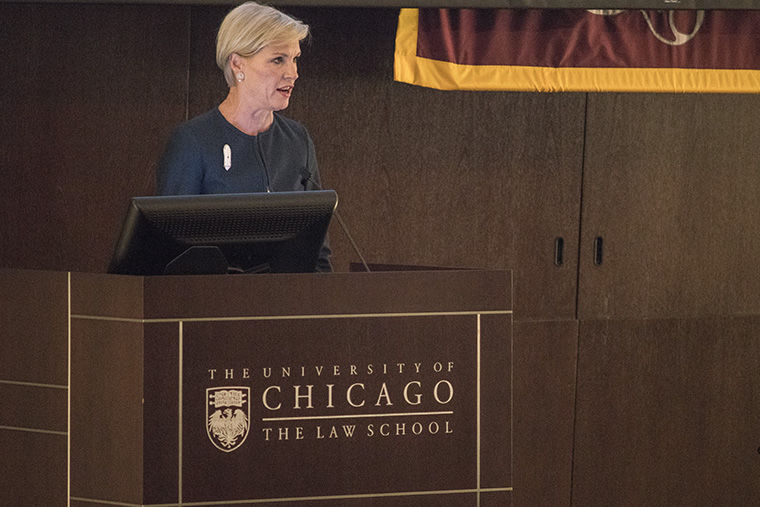University+of+Chicago+Law+welcomed+Planned+Parenthood+President+Cecile+Richards+on+Nov.+29+to+talk+about+how+women%E2%80%99s+healthcare+will+change+with+Donald+Trump+as+president-elect.%C2%A0