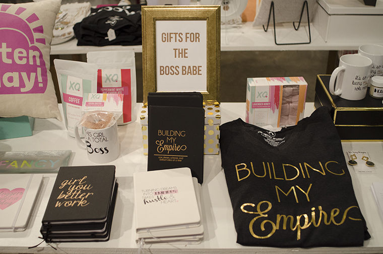 The Boss Babe's popup shop