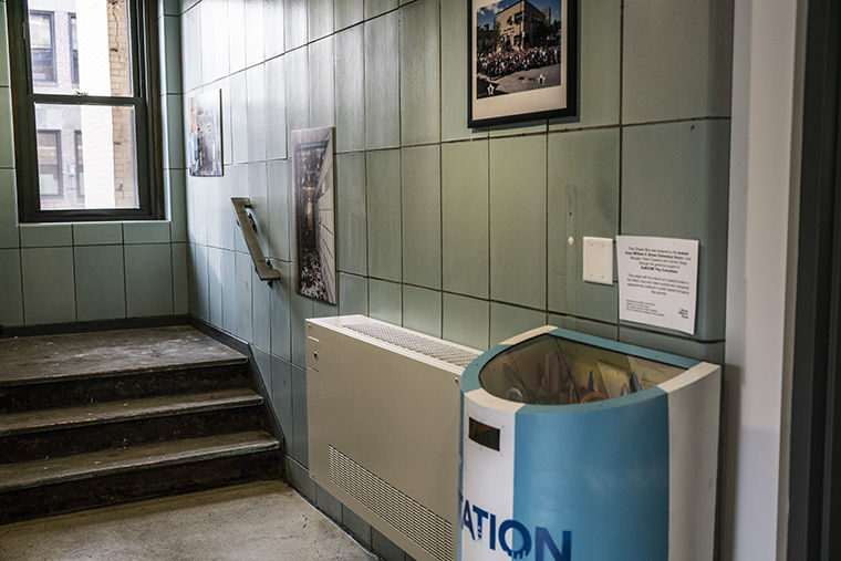 When refurbishing the old Police Station into the new arts center, the CCT tried to preserve parts of the station.