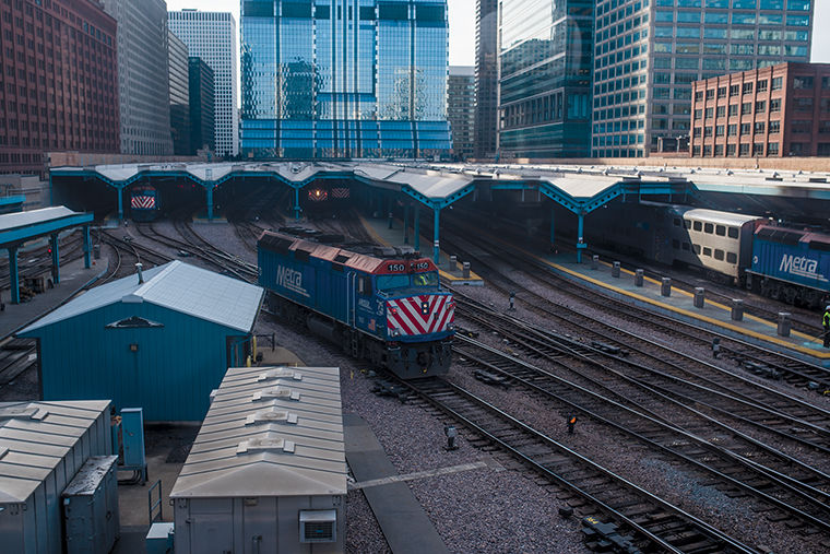 Metra plans to use new revenue from increases in fares to help pay for projects to improve facilities and repairs.