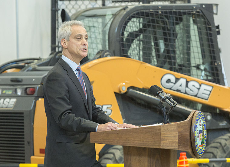 Mayor+Rahm+Emmanuel+gave+the+2017+Infrastructure+Address+at+the+Laborers+Training+Center+at+5700+W+Homer+Street+on+Jan.+9+promising+job+creation+and+investments+in+transportation.