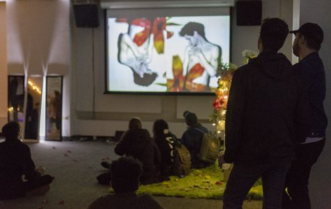 Student Programming Board hosted their first art gallery event that included art and short films created by students.