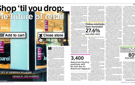 Shop 'til you drop: the future of retail