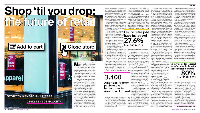Shop 'til you drop: the future of retail