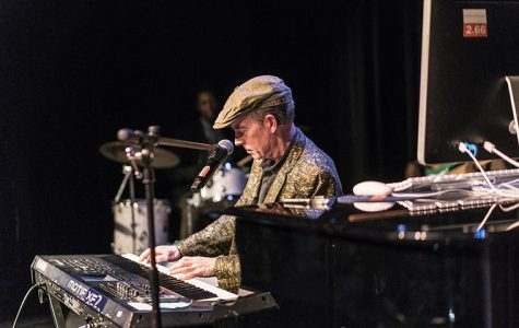 Keyboard player Richard Reed, who lost his hearing after an adverse reaction to antibiotics, told the story of his struggle to relearn music with a cochlear implant, Feb. 1, at the Music Center Concert Hall, 1014 S. Michigan Ave.