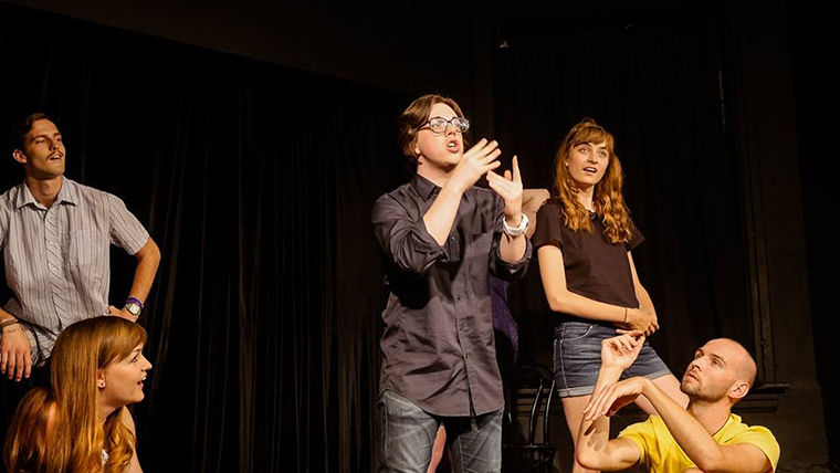 Columbia improv group Cat Booty will be competing against 15 other student groups Feb. 25 during the annual College Improv Tournament.