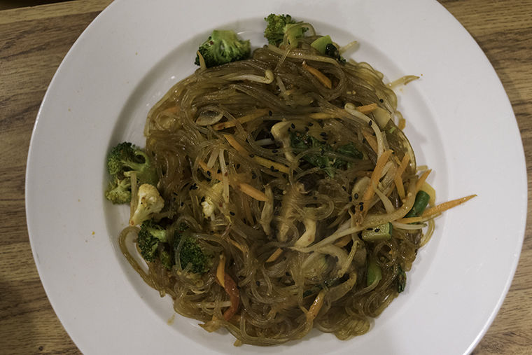Chap Chae from Amitabul at 6207 N Milwaukee Ave. in Jefferson Park.